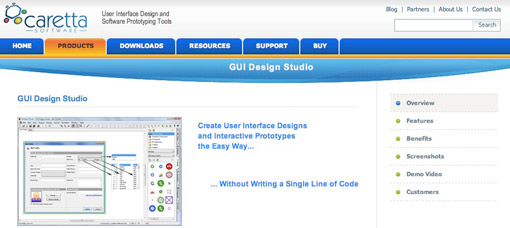 GUI Design Studio