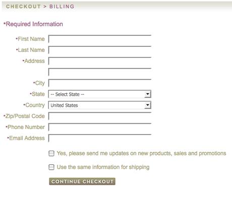 Nimli Checkout Page
