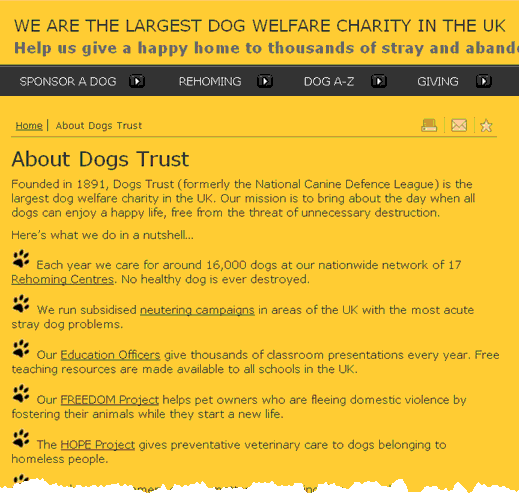 About Dogs Trust