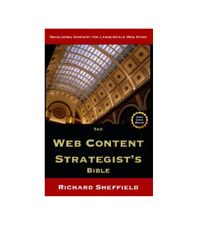 Book cover: The Web Content Strategist's bible
