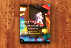 Book cover: Designing for Interaction