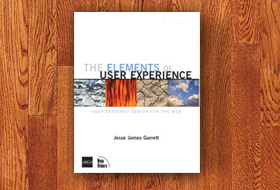 Book cover: The Elements of User Experience