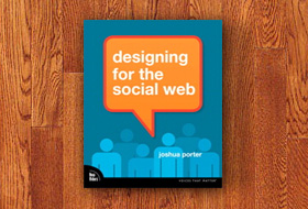 Book cover: Designing for the Social Web