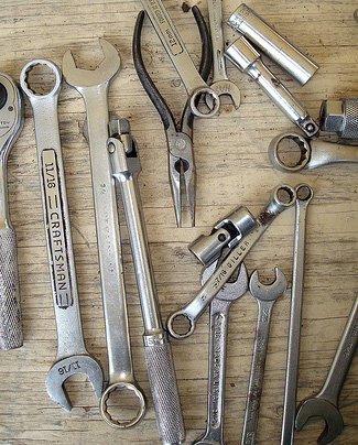 Picture of various tools