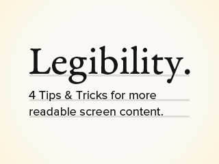 These tips and tricks will help you design more readable content for screen readers.
