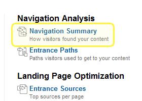 Navigation Summary