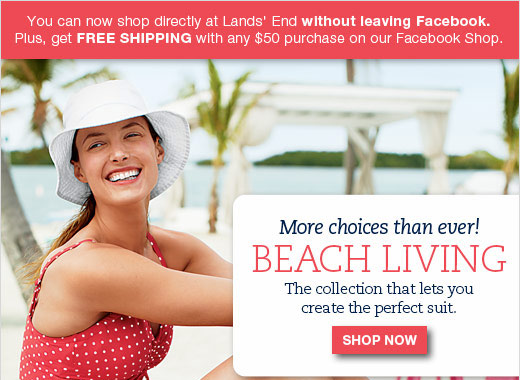 Lands' End Splash Page