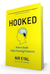 The cover of Hooked: How to Build Habit-Forming Products