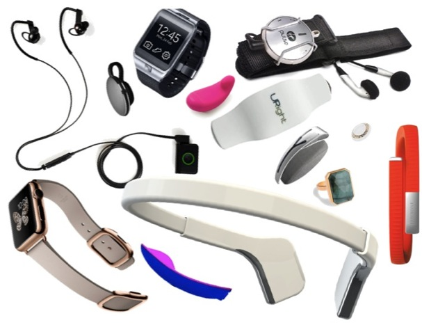 A collection of wearables.