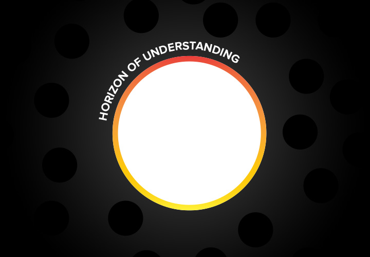 Image representing the horizon of understanding