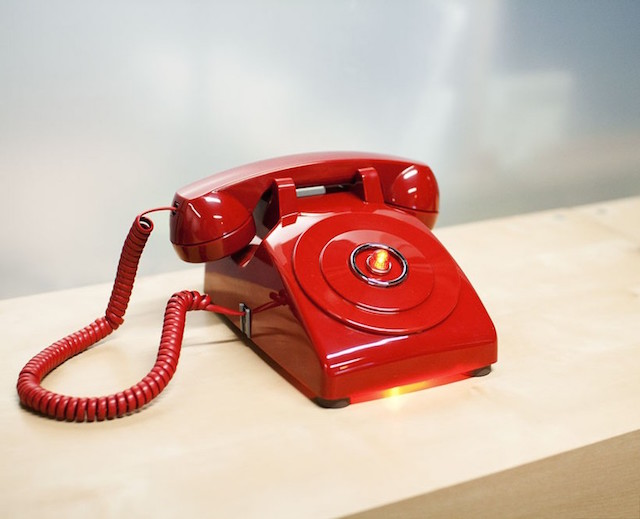 The red phone.