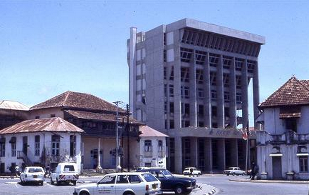 An image of the building discussed in Kenya