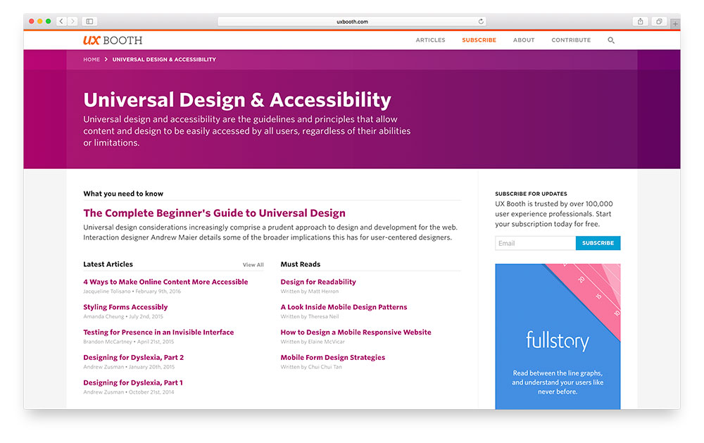 New Category Page Design