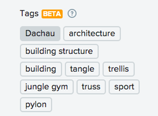Flickr tagged a photo of Dachau with jungle gym, and sport.