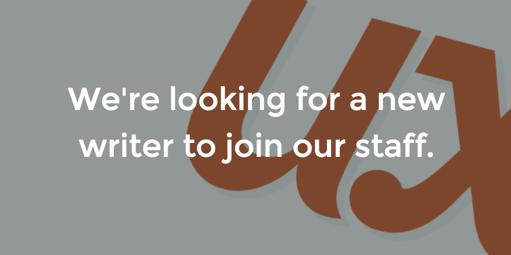 UX Writer Needed | UX Booth