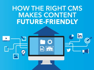 Sign up for Carrie Hane's webinar: How the Right CMS Makes Content Future-Friendly