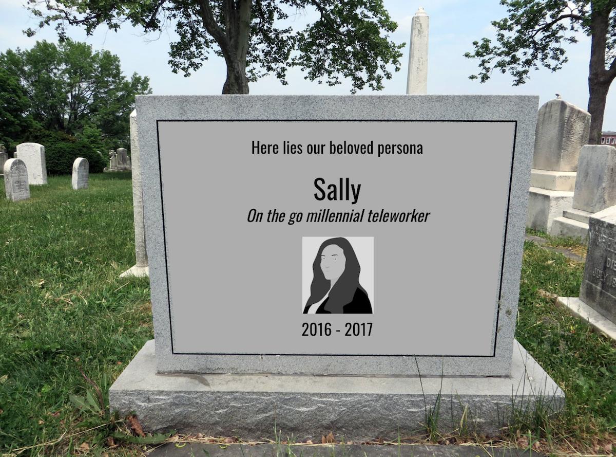Persona Tombstone