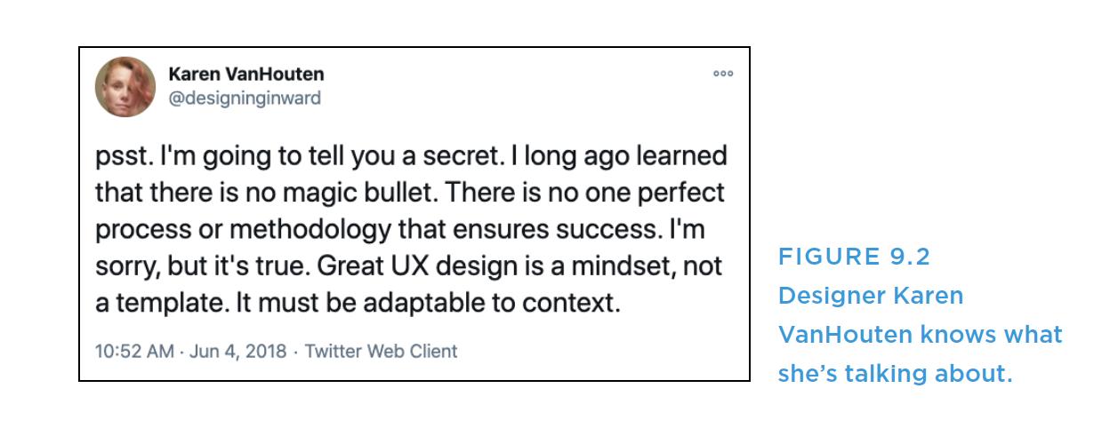 来自会话设计师的推文截图