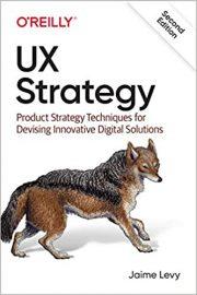 Portada del libro de estrategia de UX